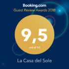 Booking Guest Award 2018 alla Casa del Sole!